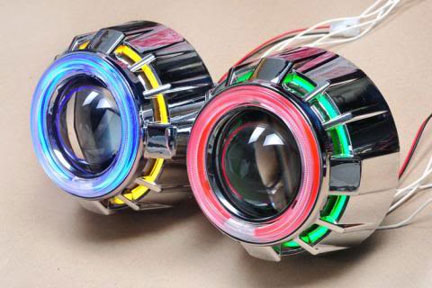 aksesoris motor headlamp