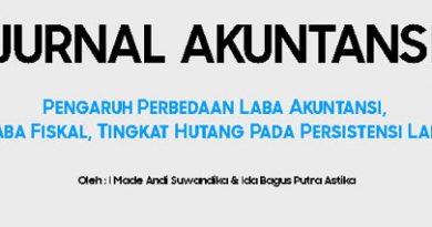 jurnal akuntansi keuangan menengah