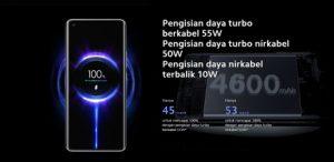 Spesifikasi Lengkap Xiaomi Mi 11 baterai dan Harga Terbarunya